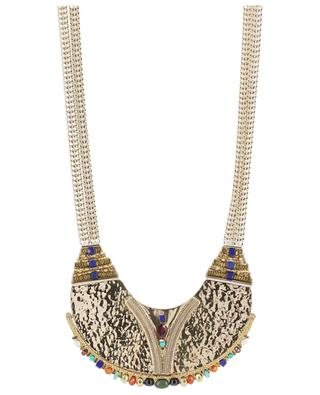 Dakota ethnic golden necklace SATELLITE