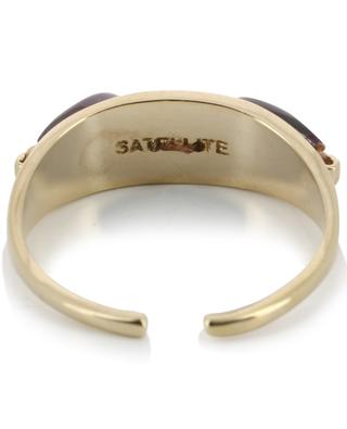 Verstellbarer Ring mit Granat Dakota SATELLITE