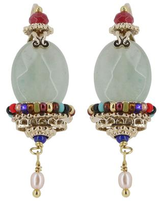 Persane aventurine adorned earrings SATELLITE