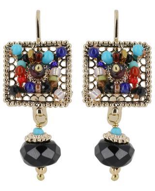 Persane square earrings SATELLITE