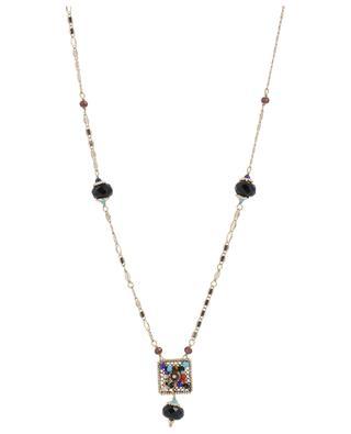 Collier orné d agates noires Persane SATELLITE ... 73a1097eab37