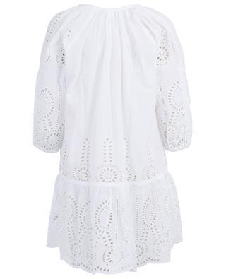 Ashley broderie anglaise cotton tunic MELISSA ODABASH