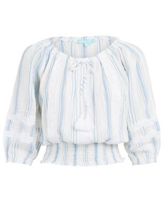 Azura stripped cotton blouse MELISSA ODABASH