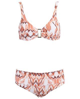 Bel Air golden buckle detail bikini MELISSA ODABASH