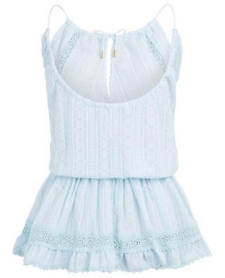 Chelsea embroidered cotton mini dress MELISSA ODABASH