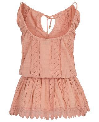 Besticktes Minikleid aus Baumwolle Chelsea MELISSA ODABASH