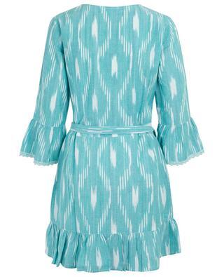 Freya cotton wrap dress MELISSA ODABASH