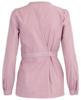 Wrap cotton blend shirt IBLUES