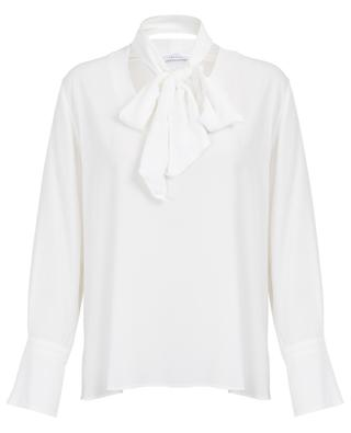 Bluse aus Seide mit abnehmbarem Halstuch Giambo IBLUES