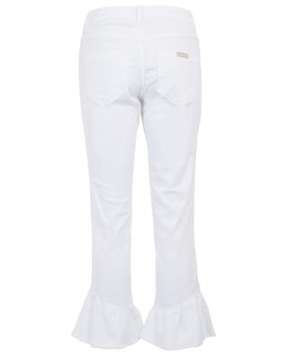 Lisotte cropped jeans with ruffles IBLUES