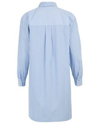 Longue chemise rayée en coton mélangé Hardy IBLUES
