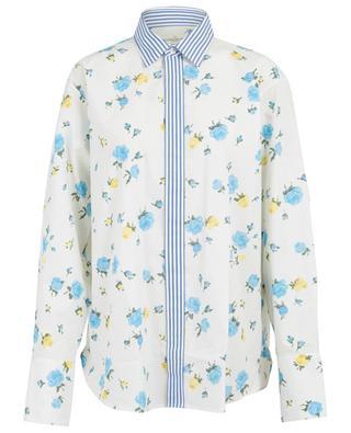 Longue chemise fleurie en coton Jessie GOLDEN GOOSE