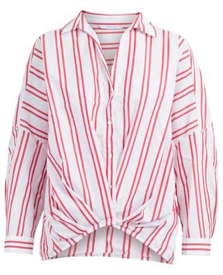 Cablo striped cotton shirt IBLUES