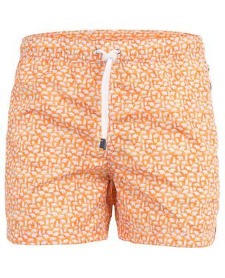 Madeira bear print swim shorts FEDELI