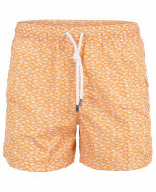 Madeira shark print swim shorts FEDELI