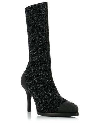 Tracy Lurex knit ankle boots CHLOE