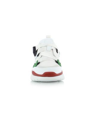 Sonnie multi-material low-top sneakers CHLOE