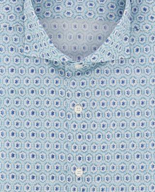 Slim-Fit Hemd mit Stern-Print Sean FEDELI