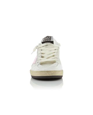 Ballstar leather sneakers with cracked star GOLDEN GOOSE