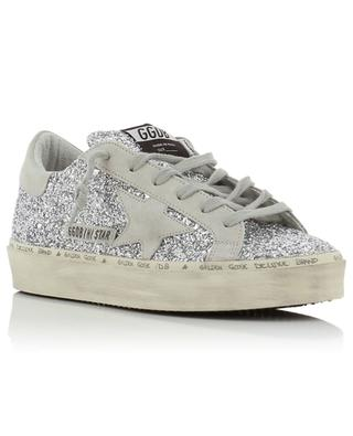 Hi Star glitter covered leather sneakers GOLDEN GOOSE