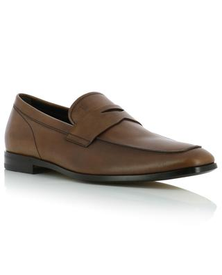 Smooth leather loafers with strap TOD'S