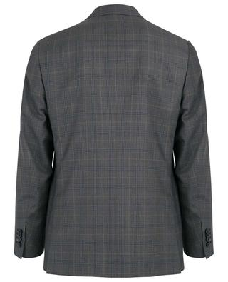Karierter Anzug aus Wolle ISAIA