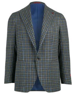 Musa silk, linen and wool blend blazer ISAIA