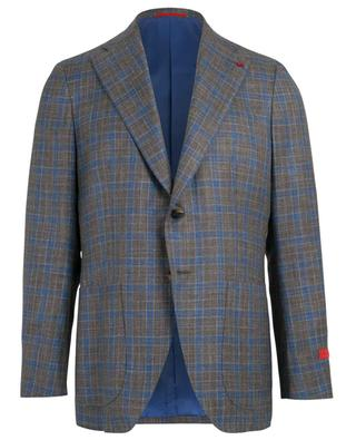 Wool, silk and linen blend blazer ISAIA