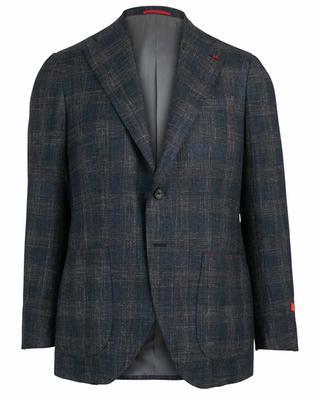 Musa wool, silk and linen blend blazer ISAIA