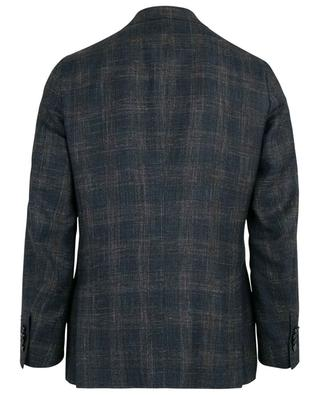 Musa wool, silk and linen blend blazer ISAIA