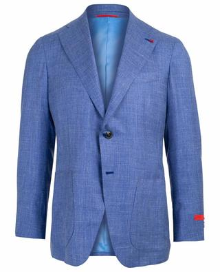 Silk, cashmere and linen blend blazer ISAIA