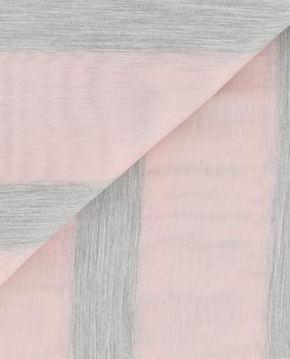 Écharpe rayée transparente FABIANA FILIPPI