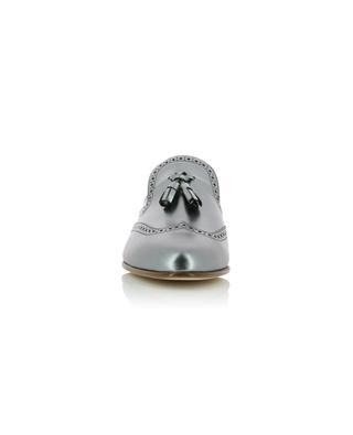 Mocassins en cuir argenté Petra FABIANA FILIPPI