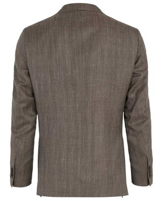 Wool, silk and linen blazer CARUSO