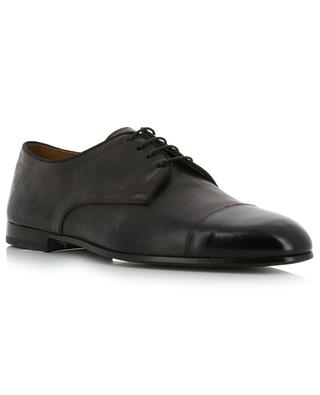 Chetta colour degrading leather lace-up shoes DOUCAL'S SRL