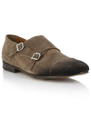 Chaussures à double boucle en daim Light Point DOUCAL'S