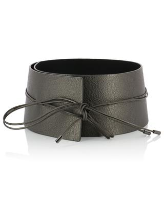 Large leather wrap belt FABIANA FILIPPI
