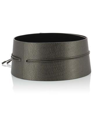 Large ceinture à nouer en cuir FABIANA FILIPPI