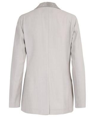 Virgin wool blend blazer FABIANA FILIPPI