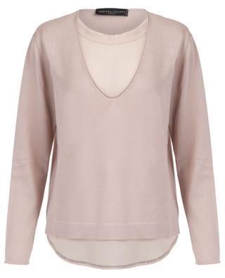 Cashmere and silk jumper FABIANA FILIPPI