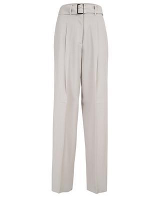 Virgin wool blend wide leg trousers FABIANA FILIPPI