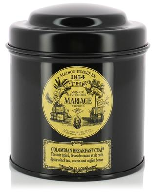 Colombian Breakfast Chaï flavoured black tea MARIAGE FRERES