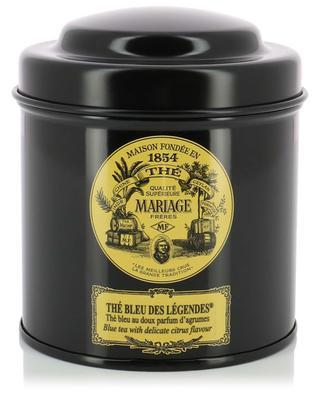Thé Bleu Des Légendes flavoured tea MARIAGE FRERES