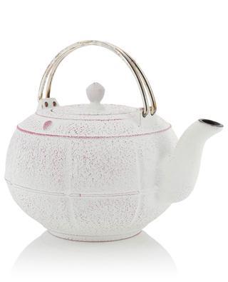 Teekanne aus emailliertem Gusseisen Pleine Lune MARIAGE FRERES