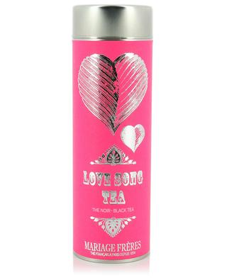 Love Song flavoured black tea MARIAGE FRERES