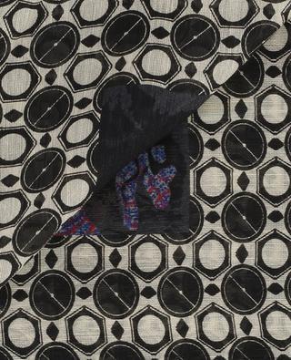 Bedrucktes Halstuch aus Leinen und Seide ETRO