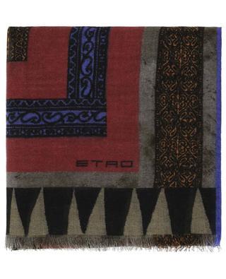 Printed cashmere scarf ETRO