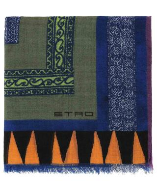 Printed cashmere scarf ETRO