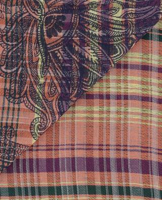 Cotton blend shawl ETRO