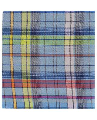 Checked cashmere, wool and silk blend scarf ETRO